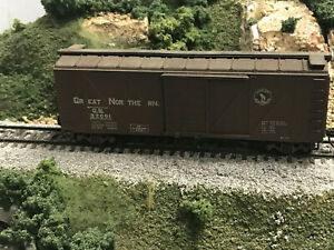 Roundhouse MDC HO 40' Wooden Boxcar Great Northern GN #32091 RTR KDs no box