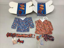 VANDERBEAR KYOTO BLOSSOMS MUFFY & HOPPY OUTFIT LOT W/ ACCESSORIES