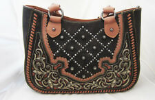 Montana West Brown & Pink Concealed Carry Shoulder Purse