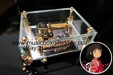 Spirited Away Always With Me from Studio Ghibli 30-Note Wind-Up Glass Music Box