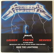 Metallica: Ride The Lightning 2 LP 180 gr. 45 RPM Remastered by Mobile Fidelity