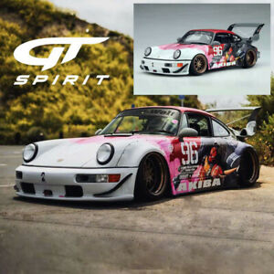 GT Spirit 1:18 Porsche 911 930 RWB AKIBA #96 Resin Car Model Limited Collection