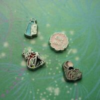 Alice In Wonderland Charms - Set of 4