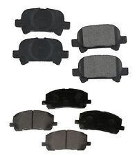 Front and Rear Disc Brake Pads Kit OEM Genuine For Toyota Avalon Camry Solara