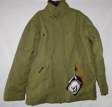 Volcom Zeanon Olive Green Coat Jacket Size Small Brand New