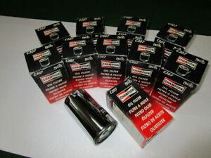 10er Set Ölfilter Champion C 307 verchromt / Harley