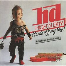 HIGH `N DRY - Hands Off My Toy! (NEW*GER MELODIC METAL REISSUE*H.GATE*C.ROSE)