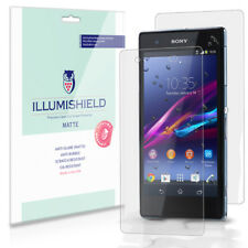 iLLumiShield Matte Screen+Back Protector w Anti-Glare 3x for Sony Xperia Z1S