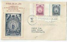 Guatemala - FDC 1945 - 1 Jahrestag der Revolution