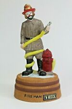 The Emmet Kelly Jr. Collection Fireman Music Box. From Flambro. New!