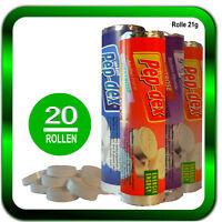 Dextrose 20 Rollen Dextrose Traubenzucker ENERGY Gemischt