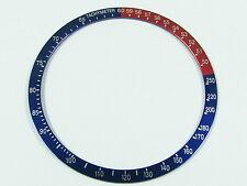 New Blue Red Bezel Insert for Seiko 6139 6000 6001 6002 6005 Pepsi Chrono Watch