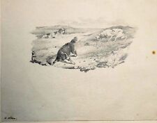HENRY THOMAS ALKEN ( 1785 - 1851 ) Lot de 2 dessins originaux, Tate Britain