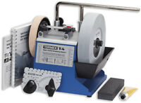 TORMEK T4 T-4 WATER COOLED SHARPENING SYSTEM MACHINE with NVR SWITCH / RDGTools