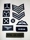 ROYAL AIR FORCE NO1 DRESS JACKET FABRIC BADGE - Raf mutiple badges available