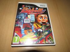 WILLIAMS PINBALL CLASSICS .NINTENDO WII pal