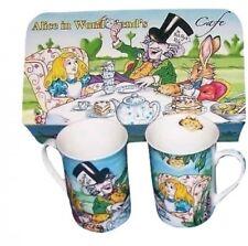 2 Cardew Alice In Wonderland'S Cafe Coffee Mugs (S) New In Box