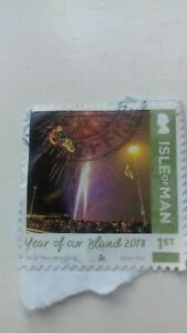 Isle of Man collectable stamp...1 of..2018..franked