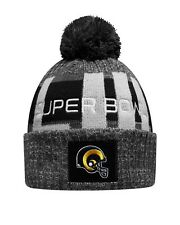 Los Angeles Rams New Era Heather Gray Super Bowl LIII Bound Marled Knit Hat a575645d5