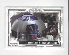 2017 Star Wars Masterwork Adv. of R2-D2 #AR6 Rescue from Trash Compactor