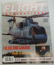 Flight International Magazine EH101 And Canada C-17 August 1989 FAL 060915R2