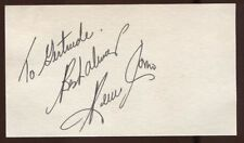 Perry Como  Signed Card  Autographed Singer Vocalist AUTO Signature