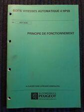 (307MB) Manuel d'atelier PEUGEOT - Boîte de vitesses automatique 4HP20.