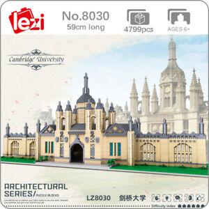 Lezi World Architecture Cambridge University Mini Diamond Blocks Building Toy