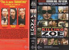 KILLING ZOE - Tarantino - VHS - PAL - NEW - Never played! - Original Oz release