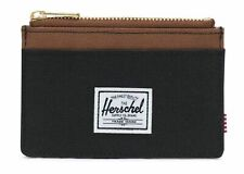 Herschel Oscar RFID Wallet Kredit- / Visitenkartenetui Black / Saddle Brown