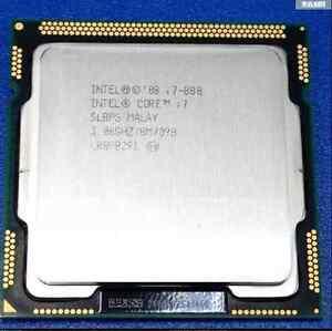 Free shipping Intel Core i7 Quad Core i7-880 3.06GHz / 8MB Socket LGA1156