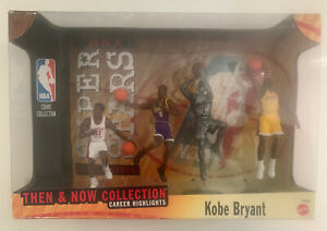 1999 MATTEL KOBE BRYANT THEN AND NOW ACTION FIGURES - VERY RARE SET 🔥🔥🔥🔥