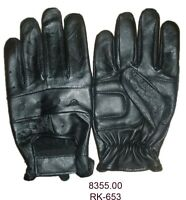 8355 Unlined Motorcycle Driving Gloves Leather Biker Gloves