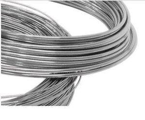935 Argentium Silver Round Soft Wire 1.0mm (18 gauge) x 1 meter