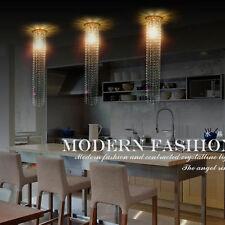 "Luxury 23.6"" Long crystal chandelier lighting fixture ceiling Lamp pendant X1"