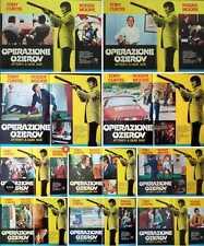 PERSUADERS OZEROV INHERITANCE Italian fotobusta x10 movie posters ROGER MOORE