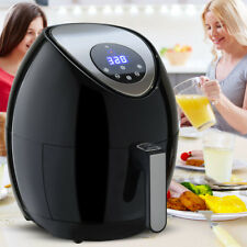 1400W Electric Air Fryer 3.4Qt Oil Free Temperature and Time Control Touch LCD