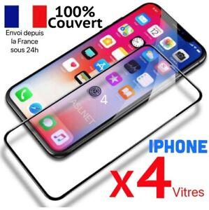 VERRE TREMPE IPHONE VITRE PROTECTION ECRAN INTEGRAL 11 12 PRO MAX SE 20 7 8 X XR