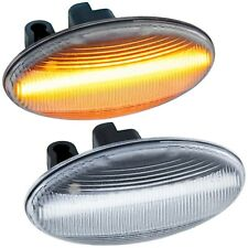 LED SEITENBLINKER für PEUGEOT 107, 108, 1007, 206, 307, 407, 607 |KLARGLAS |7606