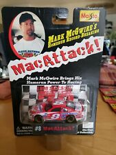 Maisto Bobby Hillin Jr #8 Mac Attack! Mark McGwire 1998 Nascar Diecast Car 1:64