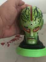 OOAK 1970s SCI FI ALIEN bust with custom paint job by RAK - MONSTER CREATURE