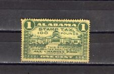 State of Alabama 1c stamp tax 100lbs  MNG HR