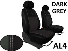 MERCEDES SPRINTER 1+1 2006 PRESENT ECO LEATHER & ALCANTRA SEAT COVERS TAILORED