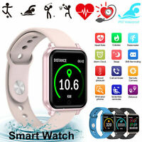 Impermeable Smart Watch Heart Rate Bracelet Mujer Regalo para iPhone