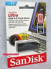 Original 32G SanDisk USB3.0 Cruzer Ultra CZ48 32GB USB 3.0 Flash Pen Thumb Drive