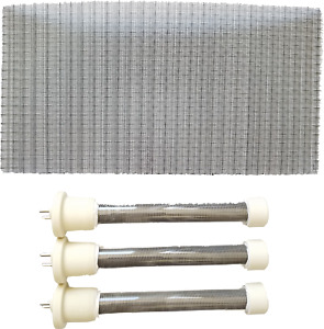 Complete Set of 3 New Longer Life Bulbs/Heating Elements 4 EdenPURE GEN4 Heaters