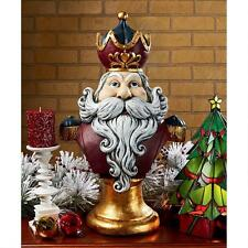 Holiday Statue Christmas Santa Claus, King of the North Pole Oversized Collector