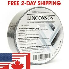 LINCONSON Black Anti-Slip Grip Tape Slip Resistant Stair Tread 2 Inch x 60 Feet