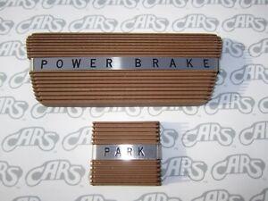 1961-1964 Buick LeSabre Wildcat Riviera Electra Brake & Park Brake Pads - Saddle
