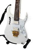 Miniature Guitar Steve Vai JEM White & Strap
